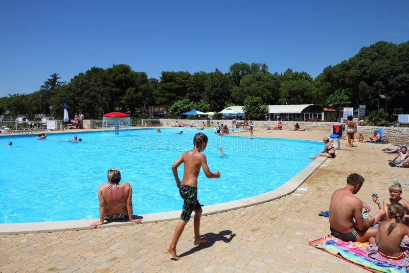 Vacances en Croatie photo libre de droits