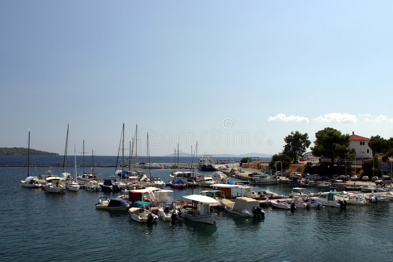 Vacances en Grèce photo libre de droits