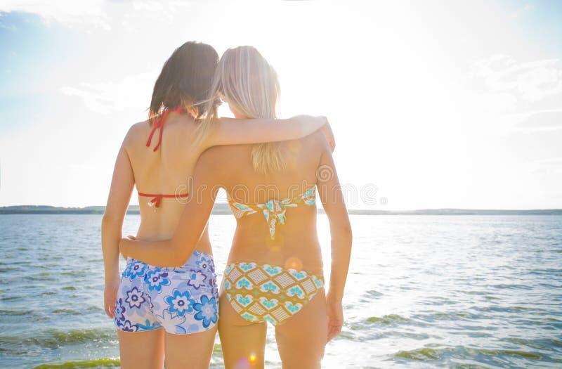 Vacances en mer images stock