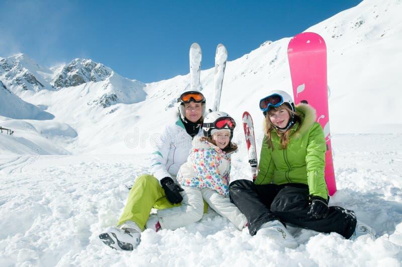 Vacances heureuses de l'hiver images stock