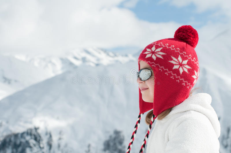 Vacances heureuses de l'hiver photos libres de droits