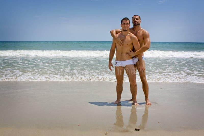 Vacances homosexuelles photos libres de droits