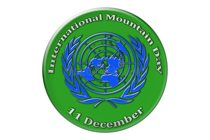 Vacances internationales des Nations Unies, bâti international illustration libre de droits
