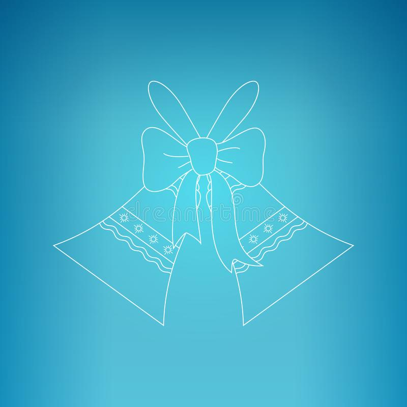 Vacances Jingle Bells illustration libre de droits