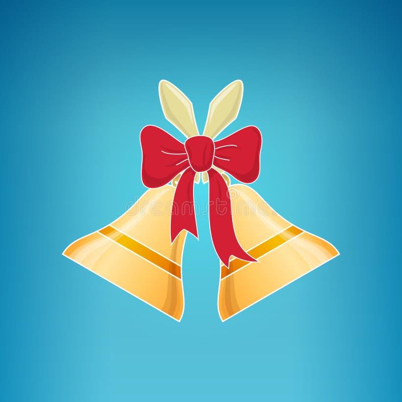 Vacances Jingle Bells, Joyeux Noël illustration de vecteur