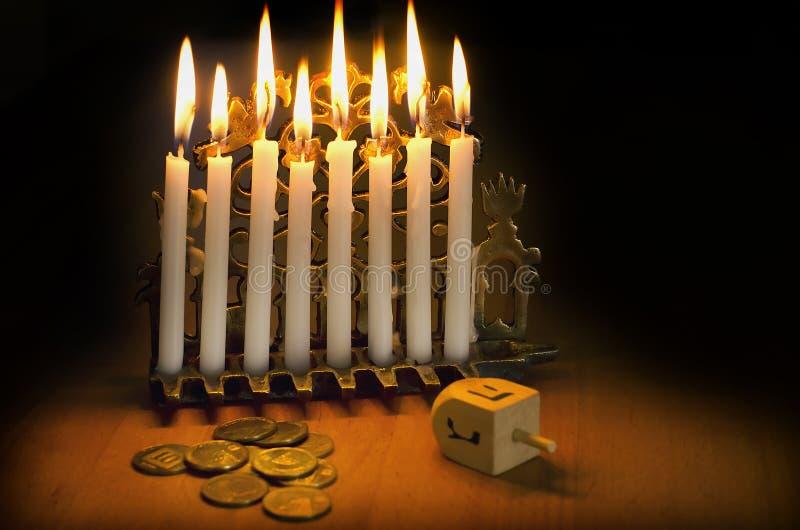 Vacances juives Hanukkah photographie stock libre de droits