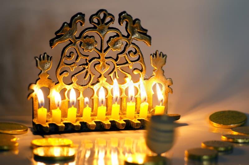 Vacances juives Hanukkah photos libres de droits