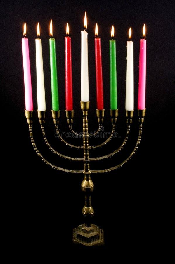 Vacances juives Hanukkah image libre de droits