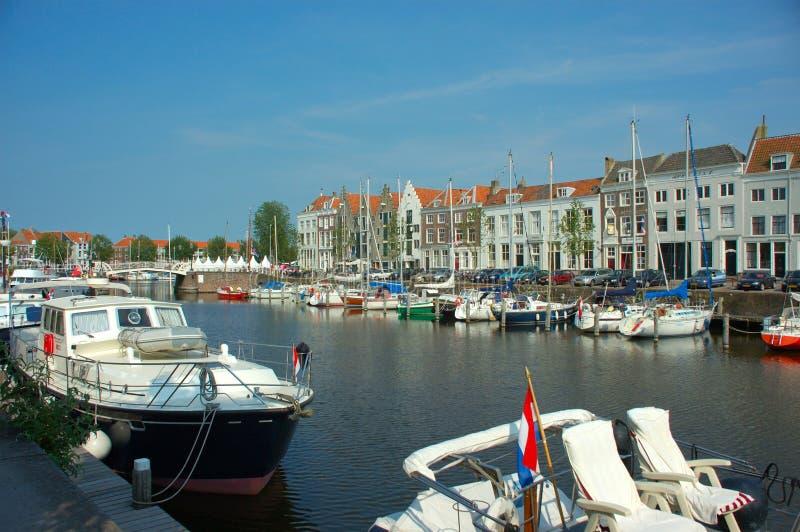 Vacances, port de yacht photographie stock libre de droits