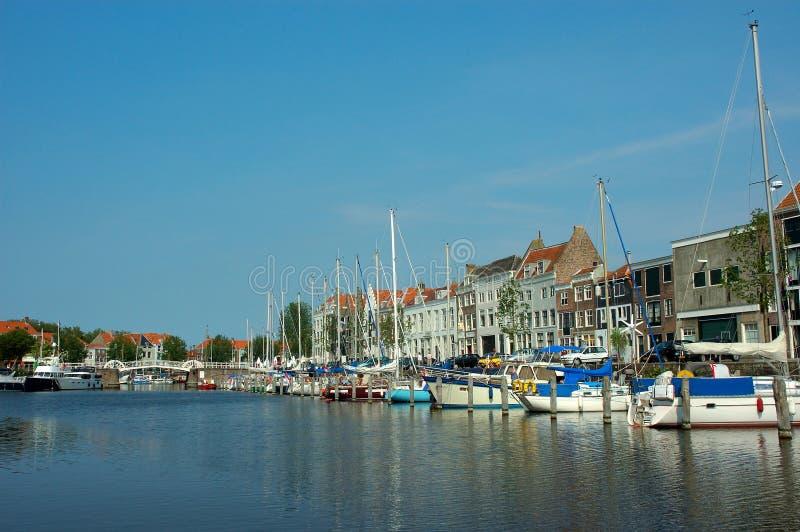 Vacances, port de yacht photo stock