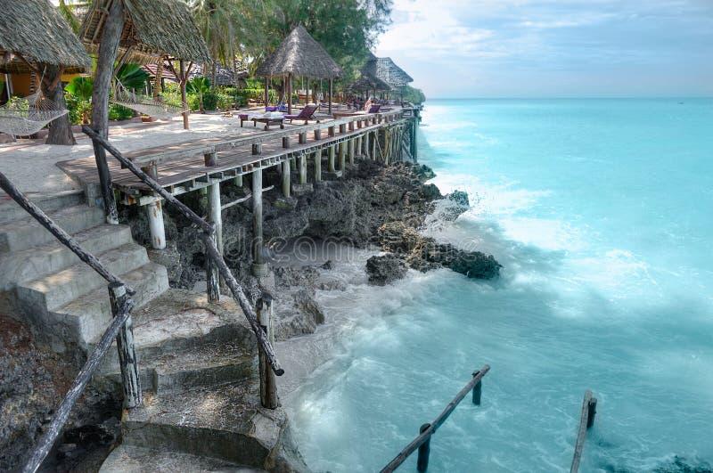 Vacances sur Zanzibar photos libres de droits