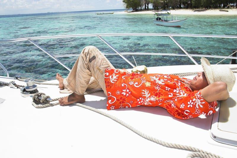 vacances tropicales d'île images stock