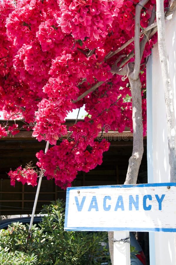 Download Vacancy sign stock image. Image of greece, rooms, islands - 9840585