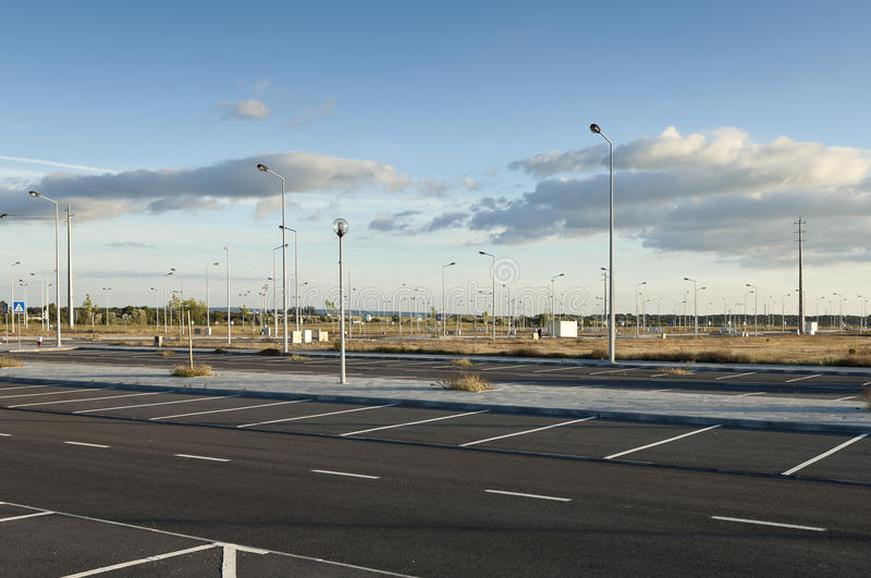 Download Vacant Industrial Lots Stock Image - Image: 30449041