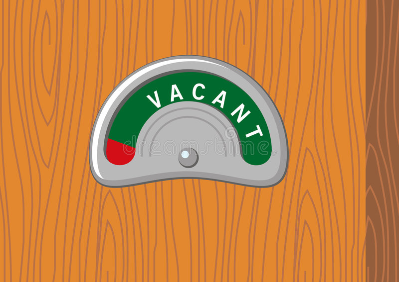 Download Vacant sign stock illustration. Illustration of escape - 507512