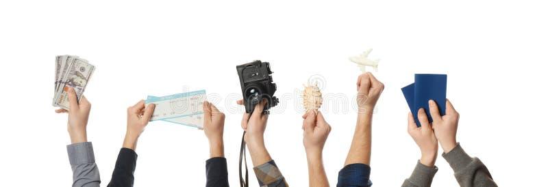 Vacanza aspettante, festa del mare di pianificazione Avventure di estate fotografia stock libera da diritti