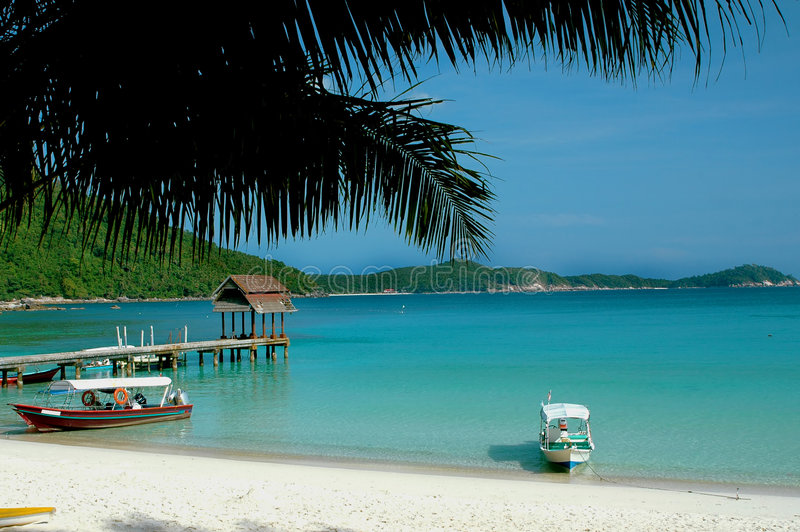 Vacanza della spiaggia immagine stock