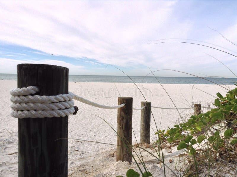 Vacanza della spiaggia dell'oceano fotografie stock