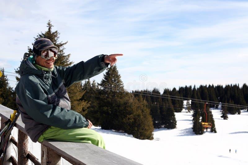 Vacanza di inverno immagine stock