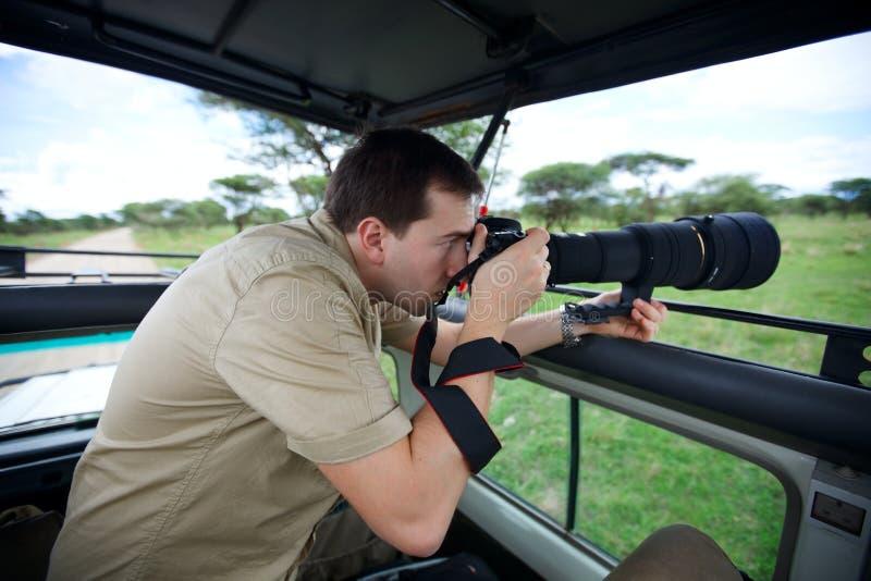 Vacanza di safari fotografia stock libera da diritti