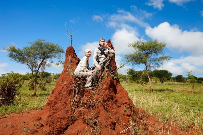 Vacanza di safari immagine stock libera da diritti