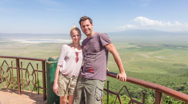 Vacanza di safari in Tanzania fotografia stock libera da diritti