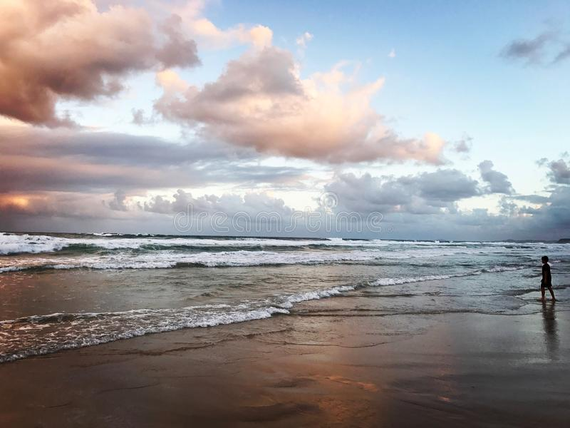 Vacanza estiva di stile dell'Australia immagine stock