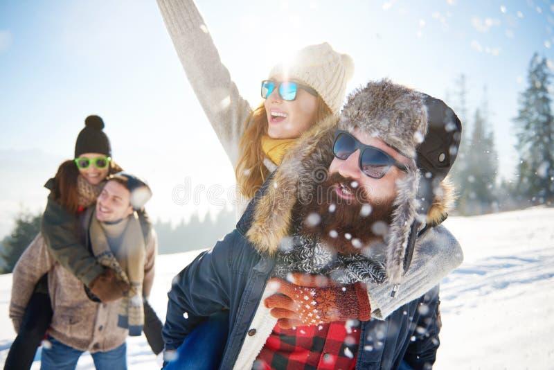 Vacanza invernale fotografie stock libere da diritti