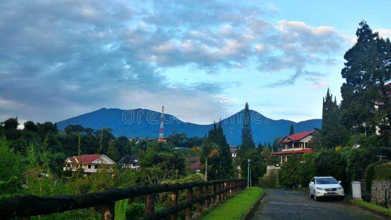 Vacanza a Mas di Bukit della villa fotografia stock libera da diritti