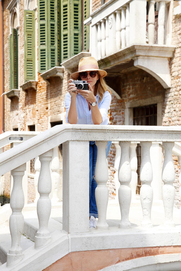 Vacanza a Venezia fotografie stock libere da diritti