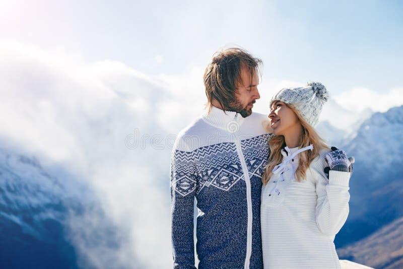 Vacanze invernali in neve immagine stock