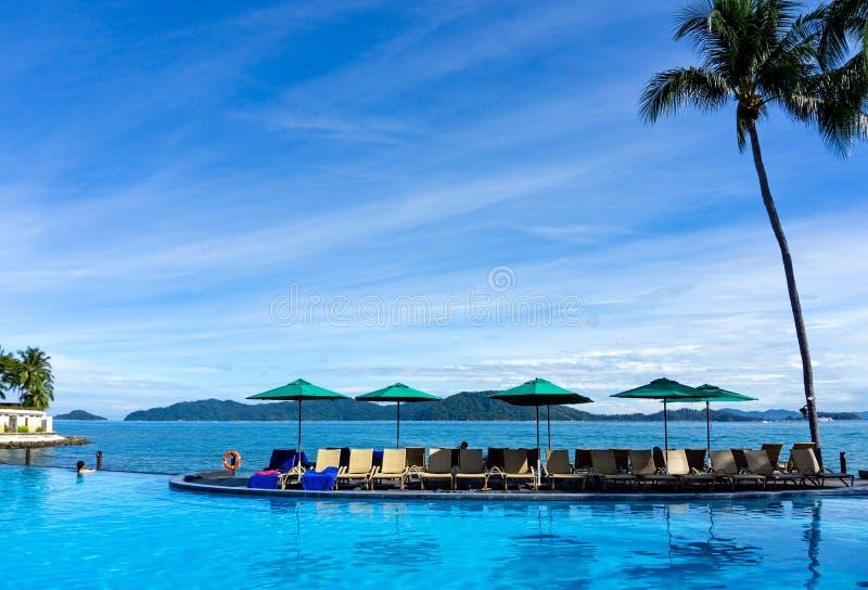 Vacanze tropicali fotografia stock