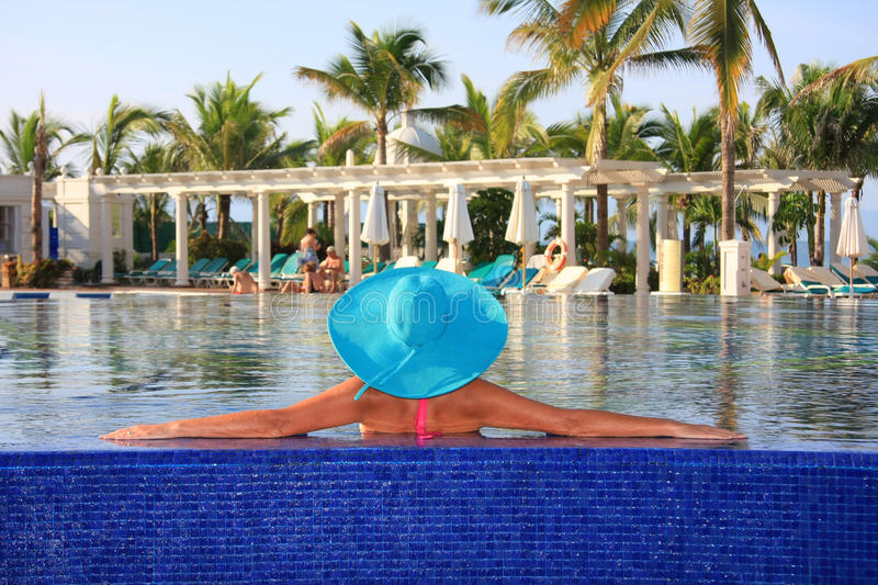Download Vacation stock photo. Image of water, resort, loungers - 11234928