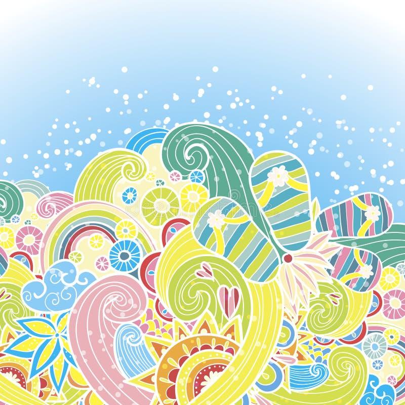 Download Vacation stock vector. Illustration of heat, shiny, beach - 28441333