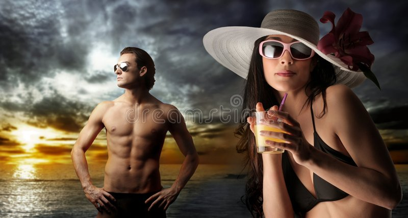 Download Vacation stock photo. Image of seduction, beautiful, beach - 8461090