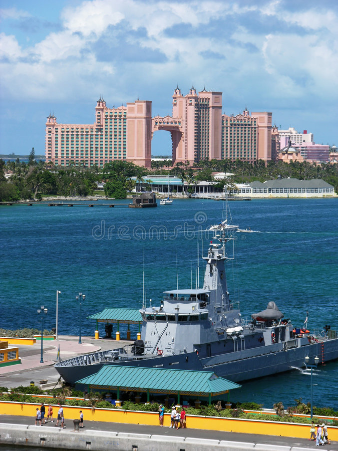 Vacation In The Bahamas stock image