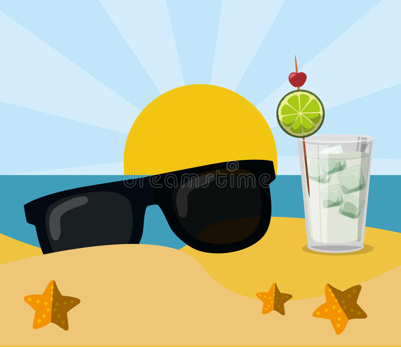 Woman Hat Sunglasses Drink Coconut Cocktail Beach Tropical