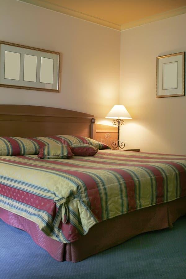 Vacation bed royalty free stock photos