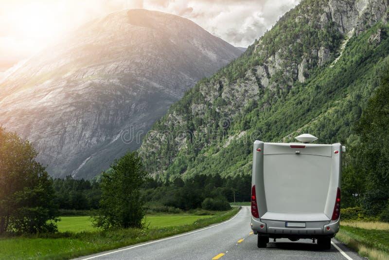 Vacation in Camper Van stock photos
