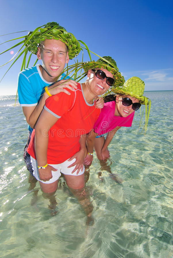 Vacation in Cuba stock images