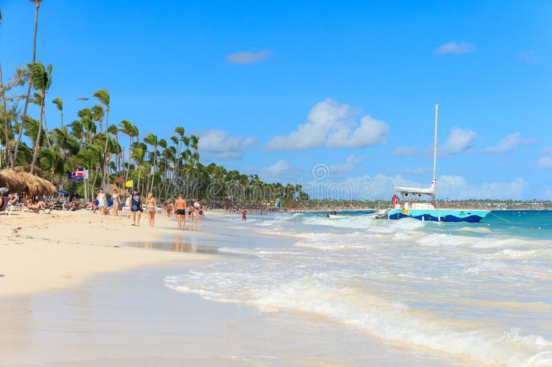Vacation in Dominican Republic royalty free stock image