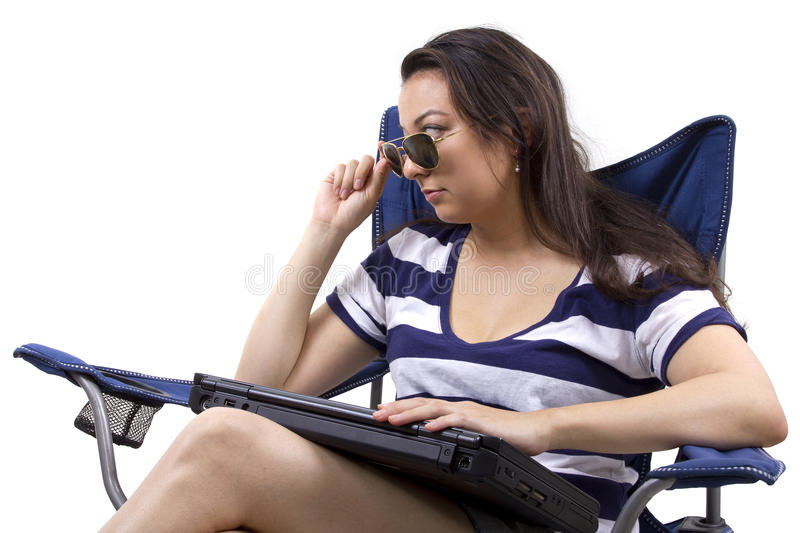 Download Vacation Emails stock photo. Image of internet, laptop - 34826726