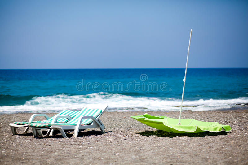 Vacation ended stock image