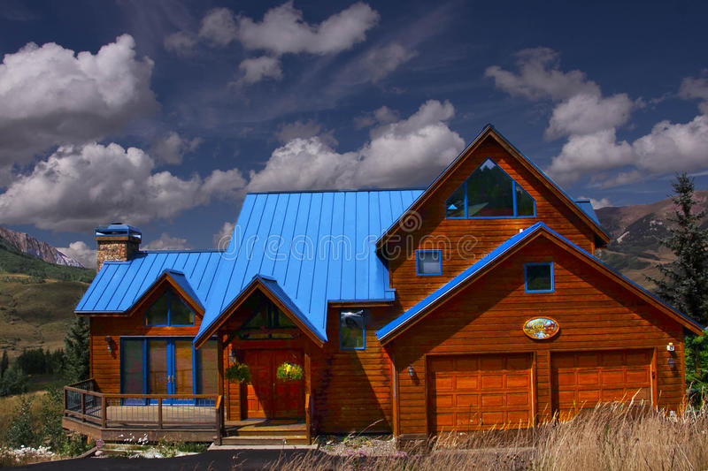 Vacation Home royalty free stock photography