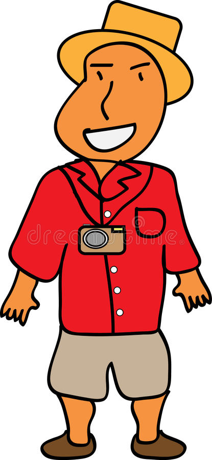 Download Vacation Man stock illustration. Illustration of arrival - 32226242