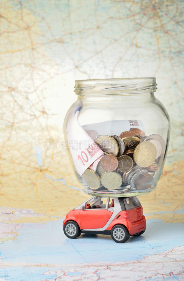 Vacation money stock images