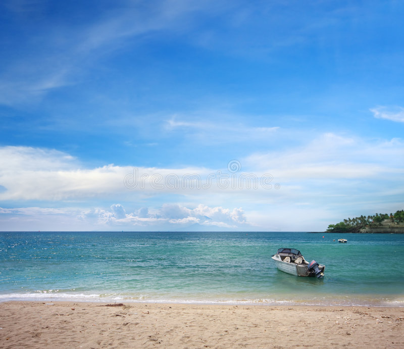 Vacation Paradise Royalty Free Stock Photo