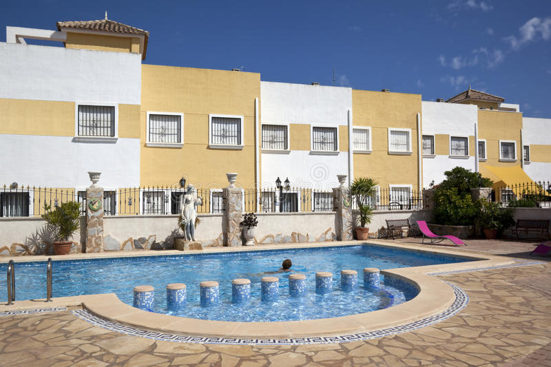 Vacation Resort - Costa Blanca - Spain Stock Photography