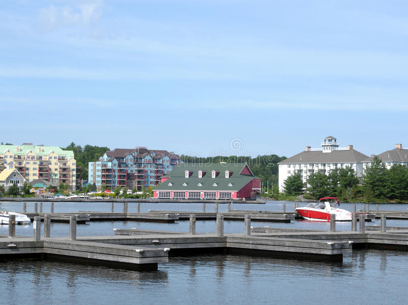 Download Vacation Resorts At Lake Muskoka Stock Photo - Image: 10484178
