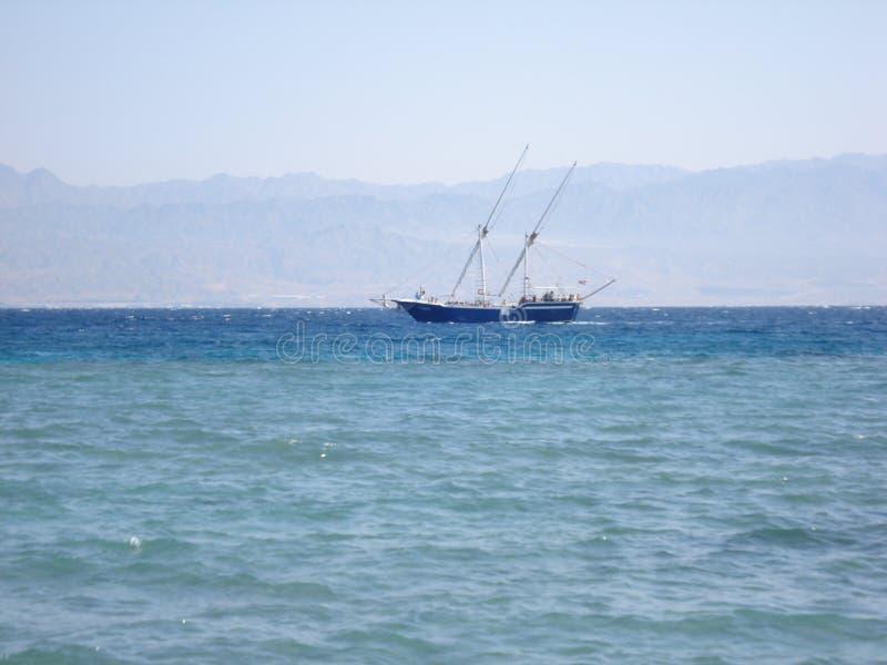 Vacation at sea stock image